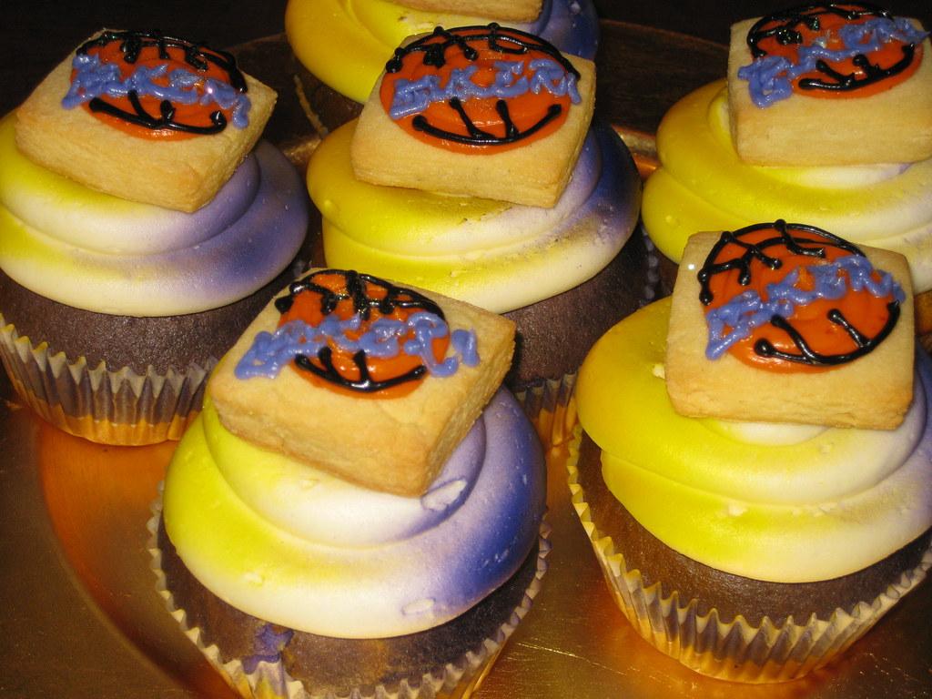 Los Angeles Lakers Cupcakes The Sugar Me Bakery Los