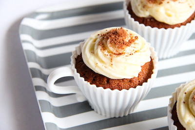 Milo Cupcakes with Condensed Milk Icing | by raspberri cupcakes