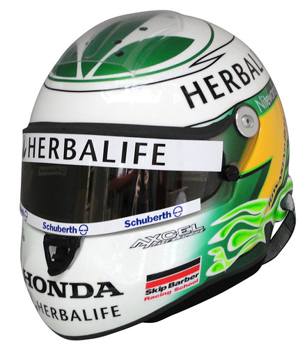 helmet of Townsend Bell front view | by Schuberth GmbH