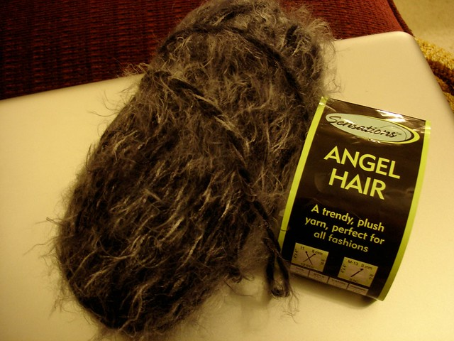 Angel Hair Sensations Yarn 50/28/22 blend (acrylic/nylon ...