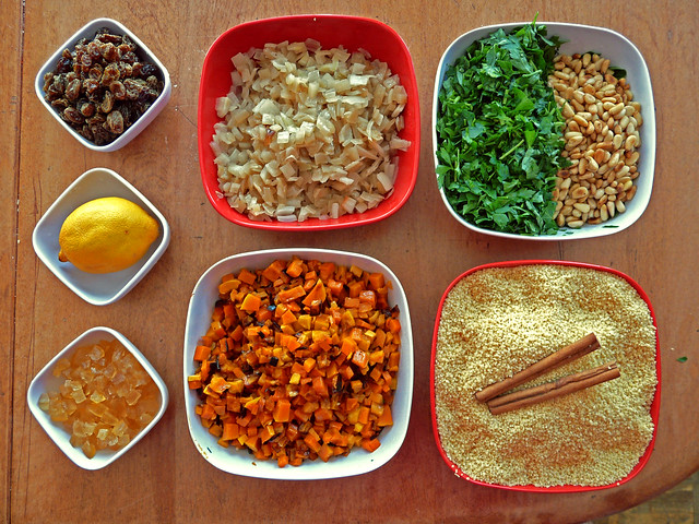 Israeli Couscous With Butternut Squash & Preserved Lemons Recipes ...