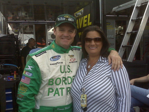 Kenny and Kim Wallace | NASCAR Nationwide Series at ...