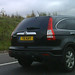 Kay personalised number plate on Honda CR-V