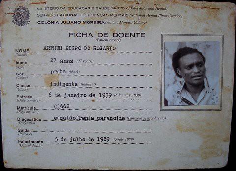 Arthur Bispo do Rosário - dados / data   Em português