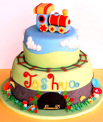 Images Of Train Birthday Cakes : Train Cake...... Flickr - Photo Sharing!