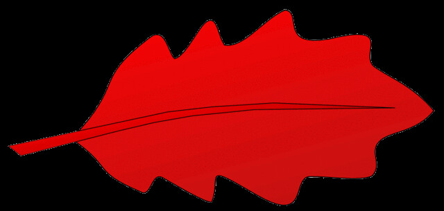 Red Leaf Clip Art This...
