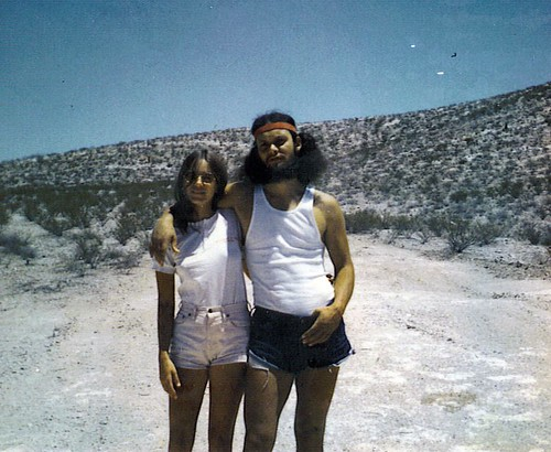 friends, May 1972, El Paso desert | by spysgrandson--thanks for 2,000,000 views!