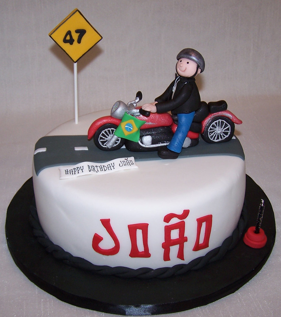 Birthday Cake Ideas Motorcycle