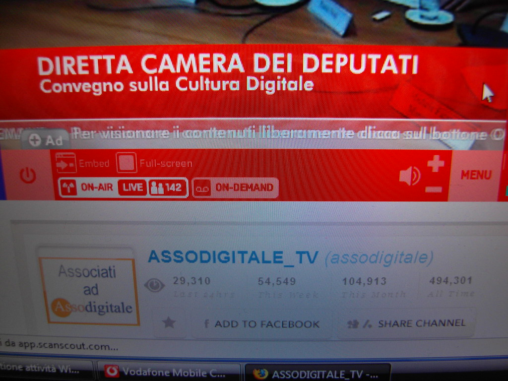 Diretta video mogulus camera dei deputati roma convegn for Camera dei deputati diretta streaming