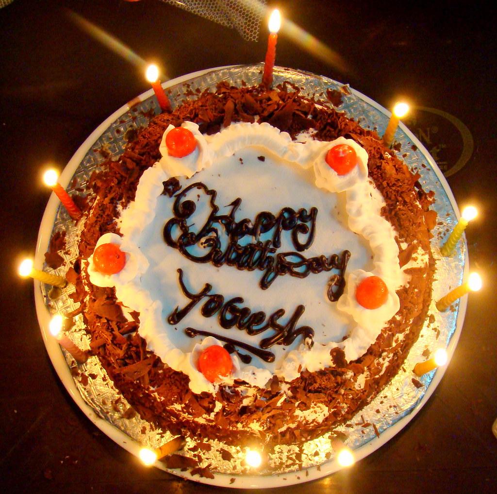 My Biirthday Cake Celebrated Birthday In Midnight