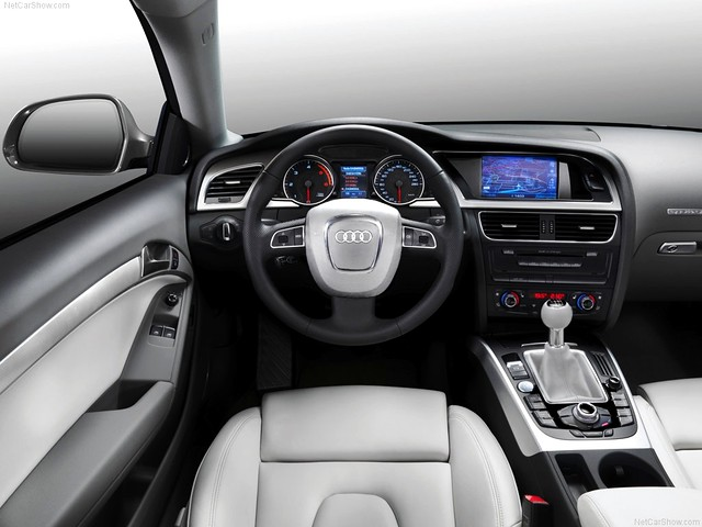 ... Audi A5 Coupe 2008 Interior | By __DReaMeR__