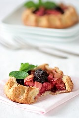 Apple & Blackberry Galettes | by tartelette