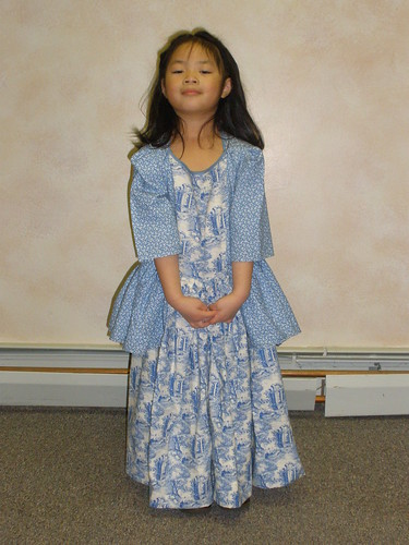 Olivia in Costume for First Play | by Pictures by Ann