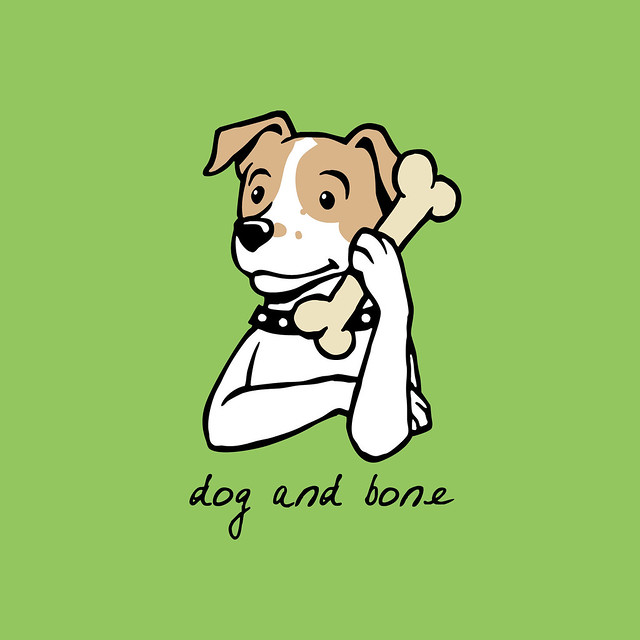 Dog Bone Food Mat