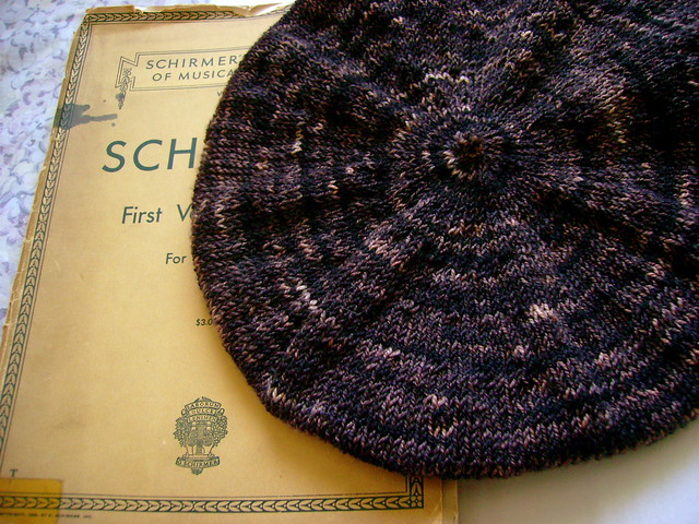 Purl Beret Knitting Pattern : purl beret because i needed a pretentious beret made it ...