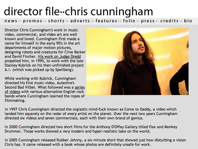 chris cunningham case study Analysis of the case of chris cunningham key questions: 1what are the key structural, hr, political, and symbolic issues that you see in the case.