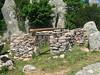 L'abri d'Ochju Grisgiu (version 2009 - visiblement retapée depuis) à l'W de Bocca di Funtanedda près de la source