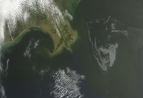 Oil Slick Near Mississippi Delta May 1st View [detail] | by NASA Goddard Photo and Video