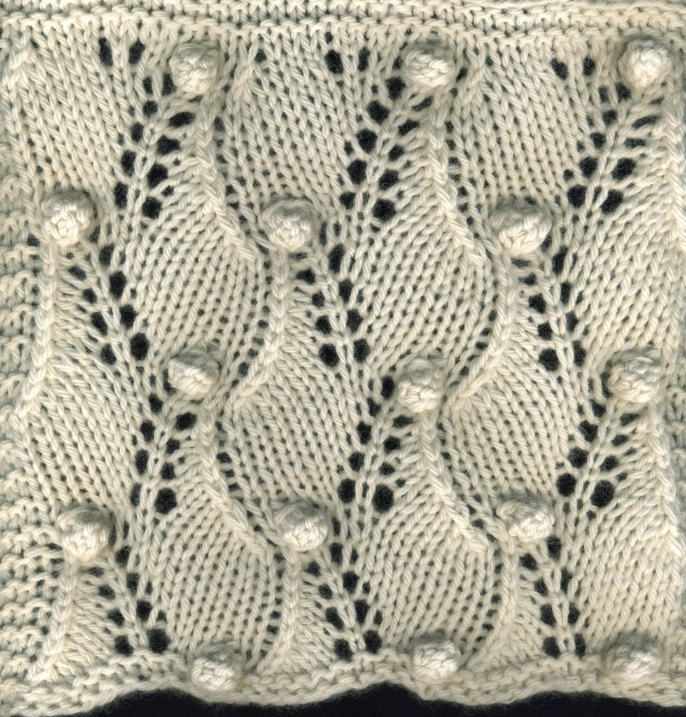 A Second Treasury Of Knitting Patterns : Field of Wheat from B. Walkers Second Treasury of Knittin? Flickr