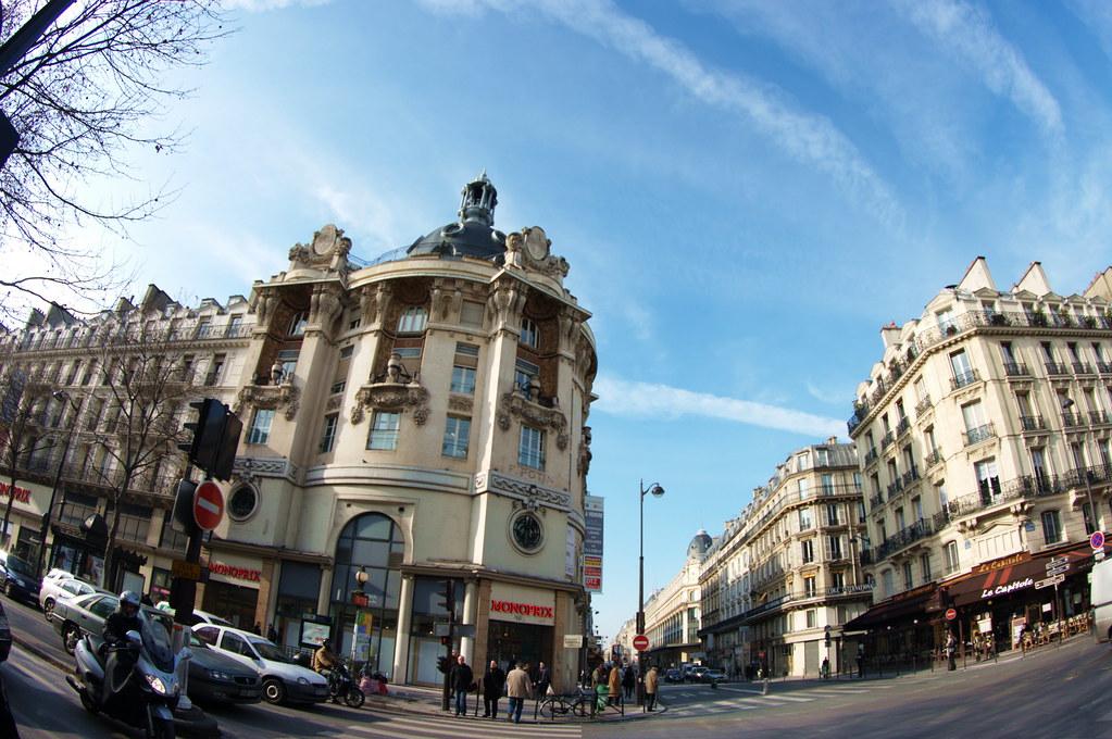 paris rue r aumur 23 boulevard s bastopol ce b timent l flickr. Black Bedroom Furniture Sets. Home Design Ideas