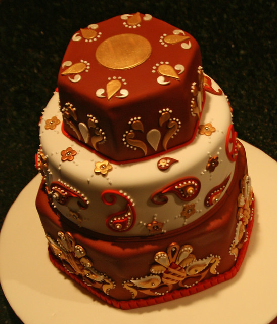 Indian Themed Fondant Cake