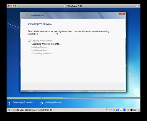 Installing Windows... Expanding Windows files... | DocGroove | Flickr