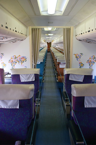 Vickers Vc10 Interior Air Travel Was Once Glamorous