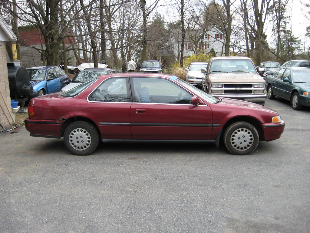 1992 honda accord 2 door coupe jerry pink flickr. Black Bedroom Furniture Sets. Home Design Ideas