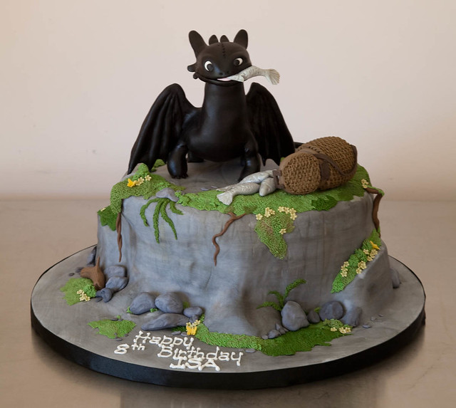 Детский торт дракон фото