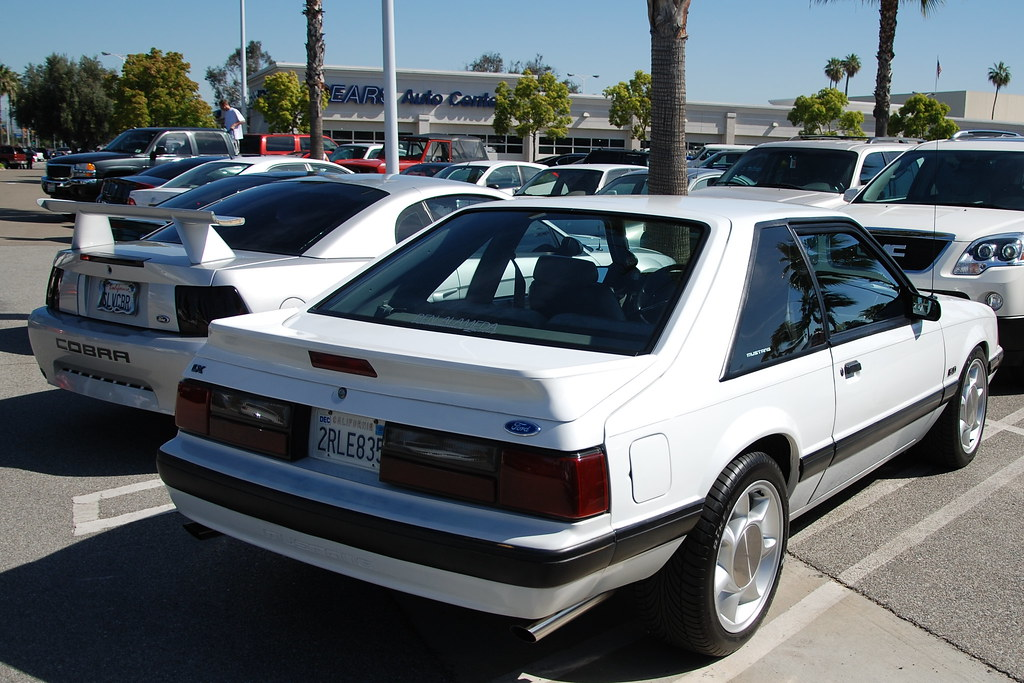Ford Mustang 5 0 Lx Foxbody Hatchback With 93 Svt Cobra W