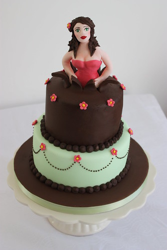 Image Result For Woman Coming Out Of Birthday Cake