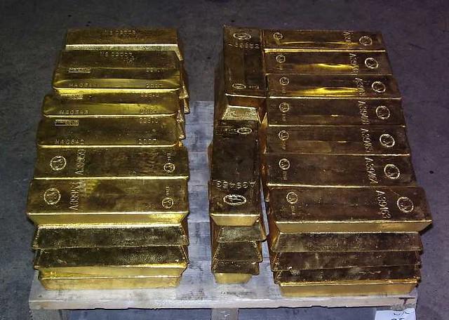 Gold Bullion Bar Stack Bullion Vault Flickr