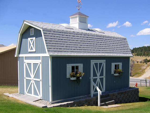 Premier Pro Tall Barn 12x24 Options Shown Paint