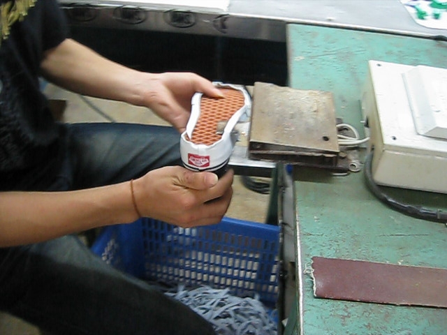 how vans are made