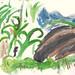 Freshkills Park watercolor