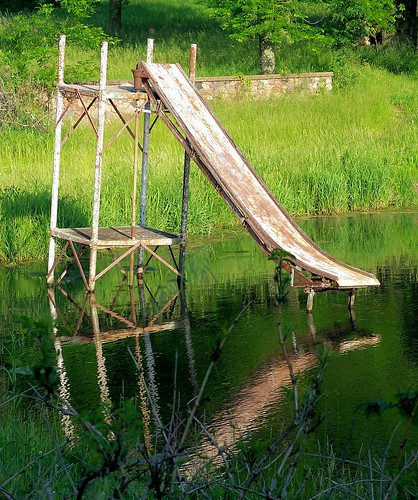 crystal lake - rusted water slide.png | by Jo Naylor