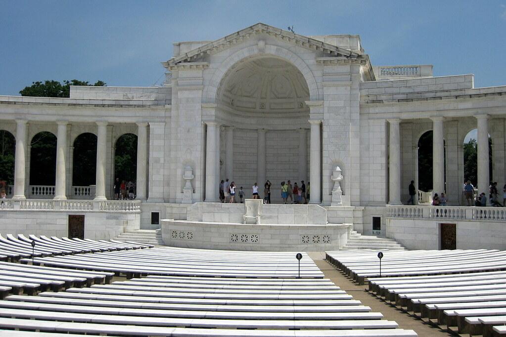 Virginia Arlington National Cemetery Arlington Memorial