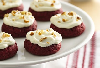 Red Velvet Rich and Creamy Cookies Recipe | by Betty Crocker Recipes