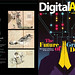 Showcase works at the current issue of digital arts