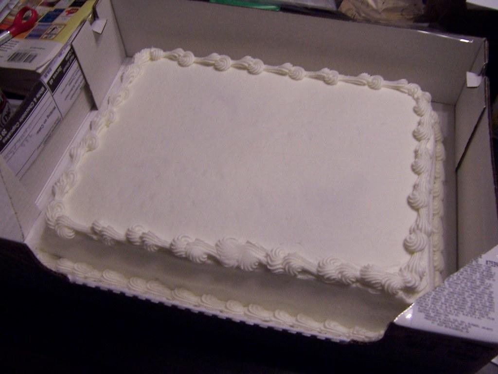Blank Cake