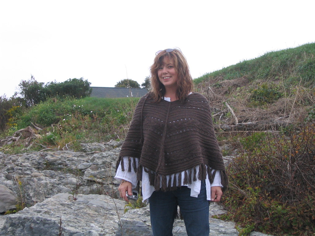 Susan Cowsill On The Rocks Behind The House On Indian
