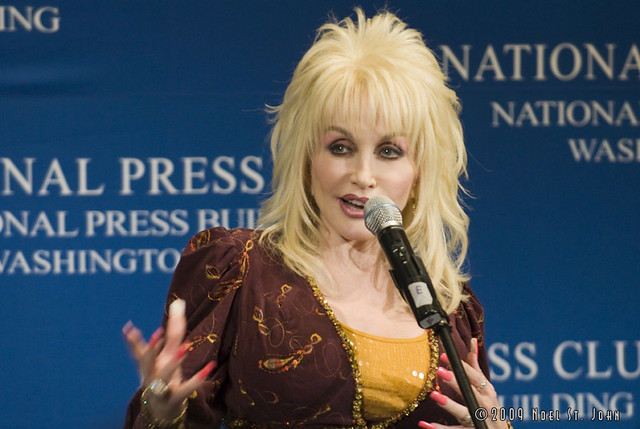 Dolly Parton at the National Press Club