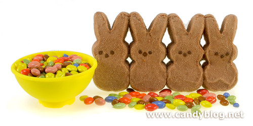 Peeps + Chocolate Sunflower Seeds | by cybele-