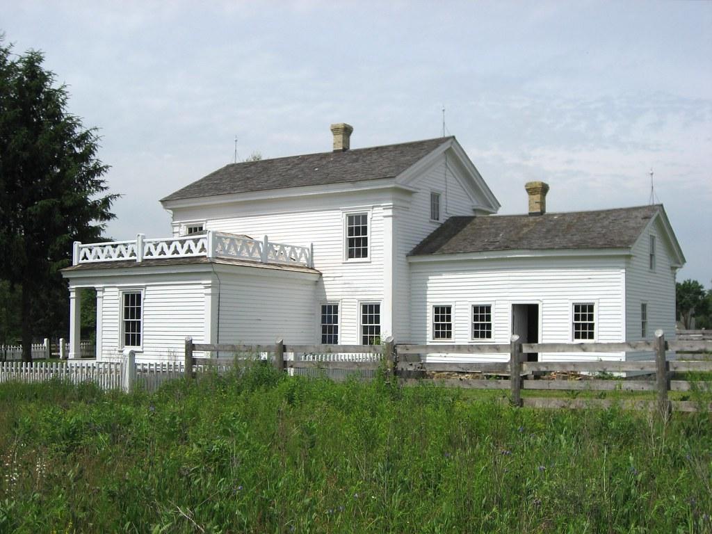 Greek Revival Farmhouse Remodel Floor Plan Great Room Kitchen