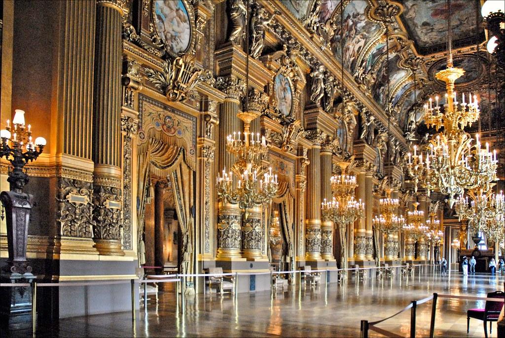 Grand Foyer La Monnaie : Le grand foyer de l opéra garnier paris la conception