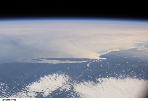 Long Island Sound, New Jersey Coast (NASA, International Space Station Science, 11/10/06) | by NASA's Marshall Space Flight Center