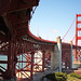 Under the Golden Gate Bridge, San Francisco