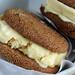 Lemon-Gingersnap Ice Cream Sandwiches