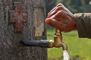 A water tap in Kaski, Nepal | by World Bank Photo Collection