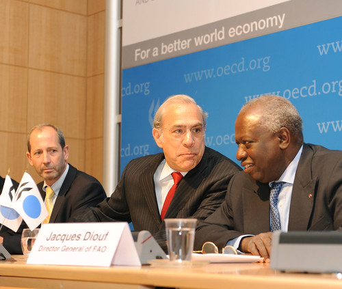 Joint FAO and OECD press conference | by Organisation for Economic Co-operation and Develop